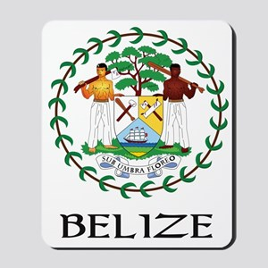 Belize Coat of Arms Mousepad
