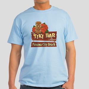 Panama City Beach Tiki Bar - Light T-Shirt