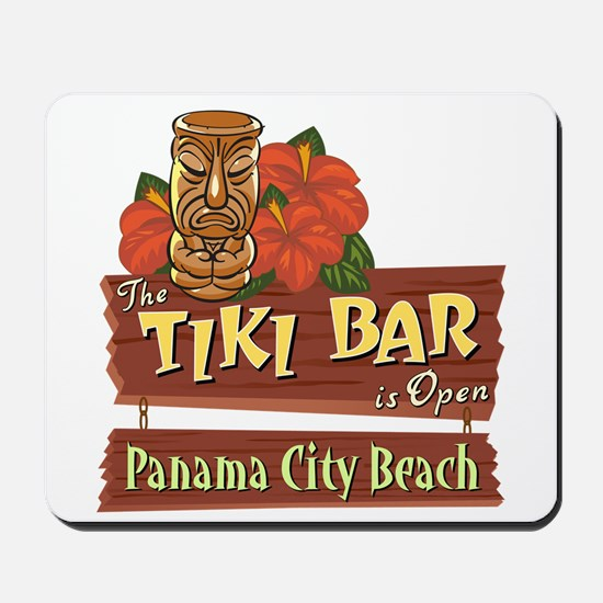 Panama City Beach Tiki Bar - Mousepad