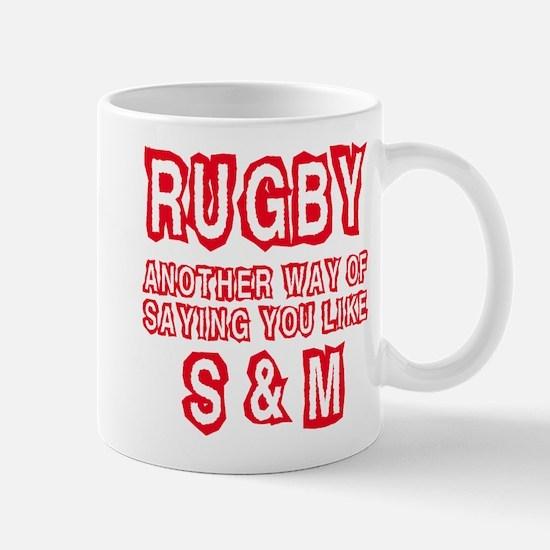 RUGBY S & M Mug