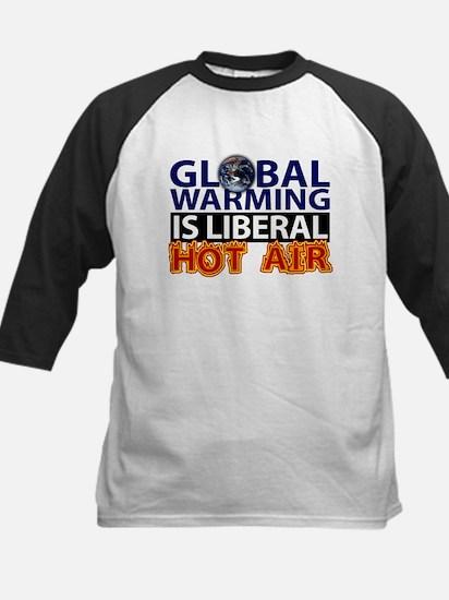 Liberal Hot Air Kids Baseball Jersey