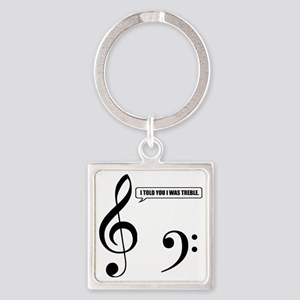 Treble Clef Keychains