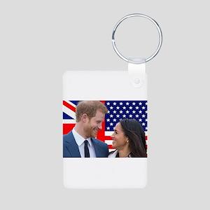 Royal Wedding Prince Harry and Meghan Ma Keychains