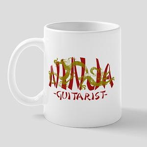 Dragon Ninja Guitarist Mug