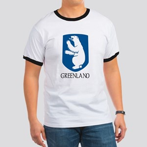 Greenland Coat of Arms Ringer T