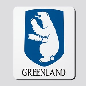Greenland Coat of Arms Mousepad