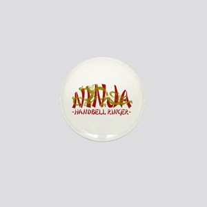 Dragon Ninja Handbell Ringer Mini Button