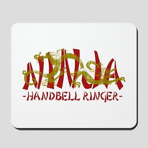 Dragon Ninja Handbell Ringer Mousepad