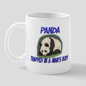 Panda Trapped In A Man's Body Mug