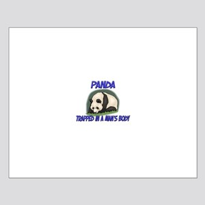 Panda Trapped In A Man's Body Small Poster