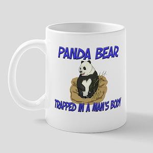 Panda Bear Trapped In A Man's Body Mug