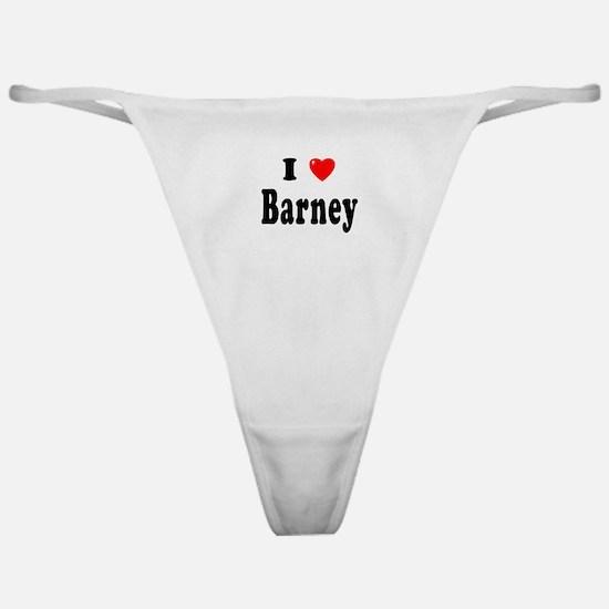 BARNEY Classic Thong