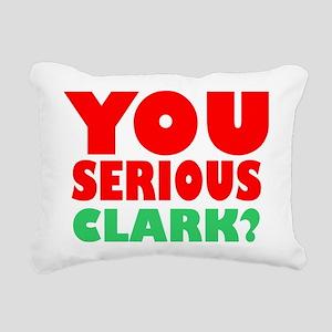 You Serious Clark Christ Rectangular Canvas Pillow