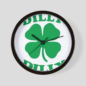 Dilly Dilly Saint Patricks Day Wall Clock
