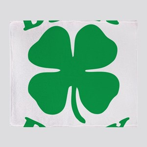 Dilly Dilly Saint Patricks Day Throw Blanket