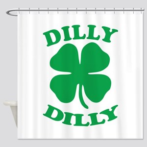 Dilly Dilly Saint Patricks Day Shower Curtain