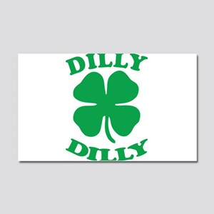 Dilly Dilly Saint Patricks Day Car Magnet 20 x 12