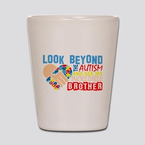 Look Beyond Autism And See My Incredibl Shot Glass