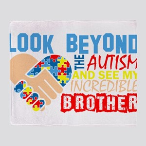 Look Beyond Autism And See My Incred Throw Blanket