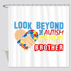 Look Beyond Autism And See My Incre Shower Curtain