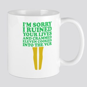 Im Sorry I Ruined Your Lives Cookies VCR Chri Mugs