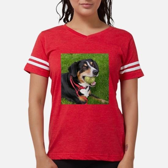 entlebucher mountain dog w ball T-Shirt