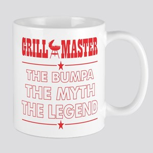Grillmaster The Bumpa The Myth The Legend BBQ Mugs
