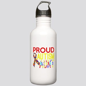 Proud Autism Aunt Awar Stainless Water Bottle 1.0L