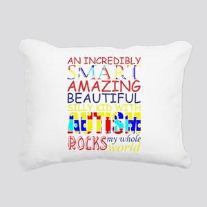 Incredibly Smart Amazing Rectangular Canvas Pillow