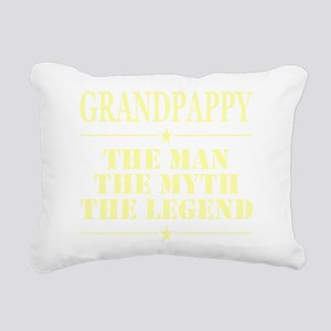 Grandpappy The Man The M Rectangular Canvas Pillow