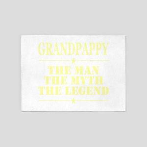 Grandpappy The Man The Myth The Leg 5'x7'Area Rug