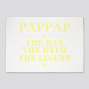 Pappap The Man The Myth The Legend 5'x7'Area Rug