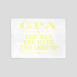 Gpa The Man The Myth The Legend 5'x7'Area Rug