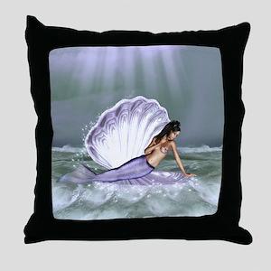 DRIFTING AWAY Throw Pillow