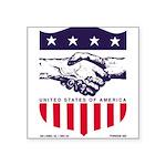 Foreign Aid Sticker