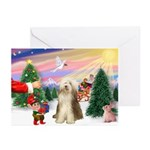 Treat for a Bearded Coll Greeting Cards (Pk of 10)