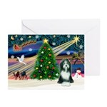 Xmas Magic & Beardie Greeting Cards (Pk of 20)