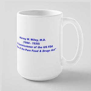 Harvey Wiley FDA Mugs