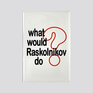 Raskolnikov Rectangle Magnet