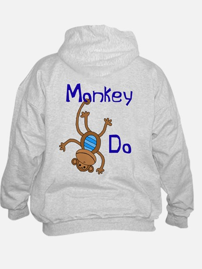 Monkey Do blue Hoody