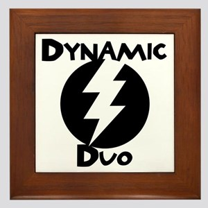 DYNAMIC DUO Framed Tile