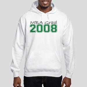 MBA Grad 2008 (Green) Hooded Sweatshirt