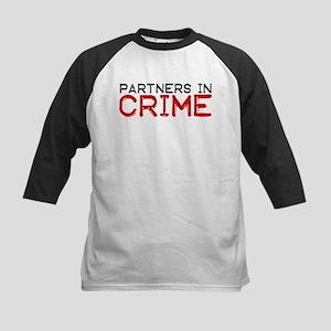 Partners In CRIME Kids Baseball Jersey
