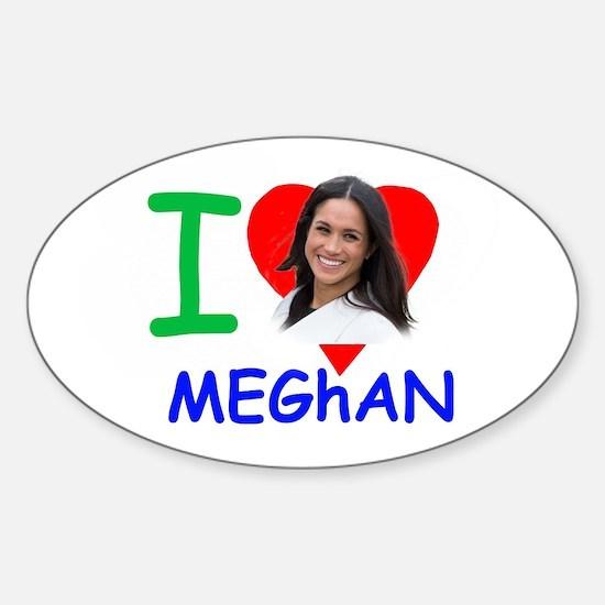'I Love Meghan' Meghan Markle Decal