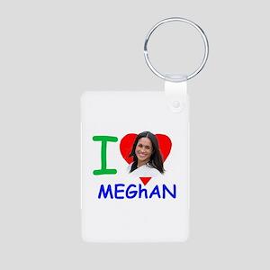 'I Love Meghan' Meghan Markle Keychains