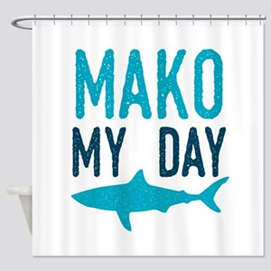 Mako My Day Shower Curtain