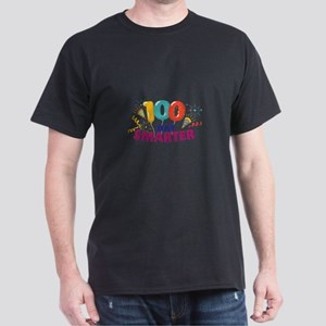 Happy 100th Day Of School 100 Days Smarter T-Shirt