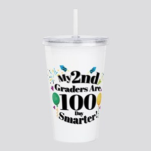 100th Day Of School 2N Acrylic Double-wall Tumbler