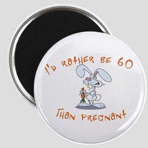 Rather be 60 rabbit Magnet