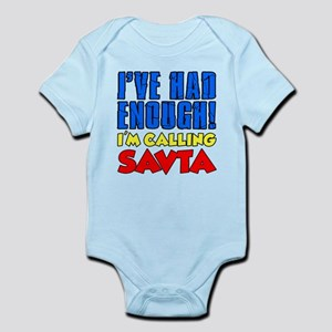 Had Enough Calling Savta Body Suit